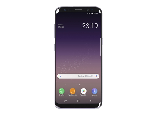 Smartfon Samsung Galaxy S8 NFC LTE Bluetooth WiFi GPS 64GB Android 7.0 kolor szary Orchid Grey