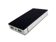 Powerbank PowerNeed P10000B ( 10000mAh USB czarno srebrny)