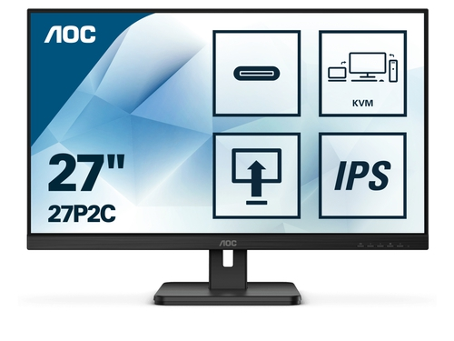 "MONITOR AOC LED 27"" 27P2C"