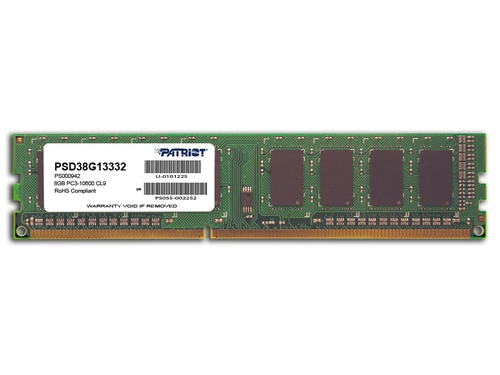 Patriot 8GB SIGNATURE 1333MHz DDR3 CL9 1.5V - PSD38G13332