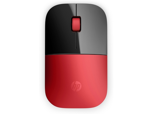 HP Z3700 Red Wireless Mouse - V0L82AA