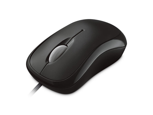 MYSZ MICROSOFT BASIC OPTIC MOUSE FOR BUSINESS BLACK - 4YH-00007