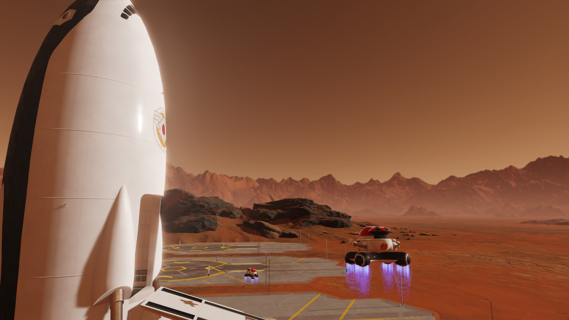 #Surviving Mars: Space Race