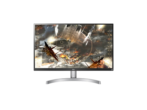 "Monitor LG 27UK600-W 27"" IPS/PLS 4K 3840x2160 HDMI DisplayPort kolor biały"