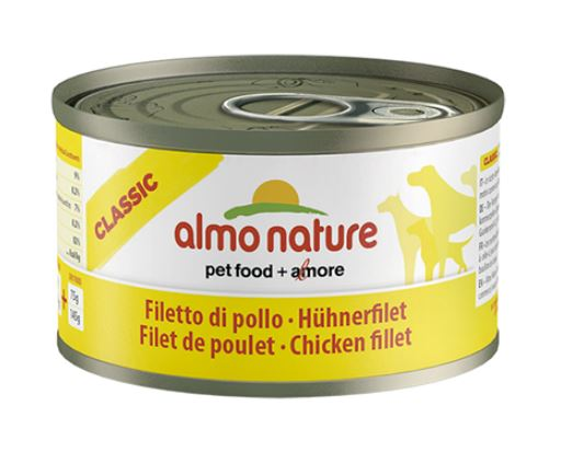 #ALMO NATURE Classic Dog Filet z kurczaka  95g
