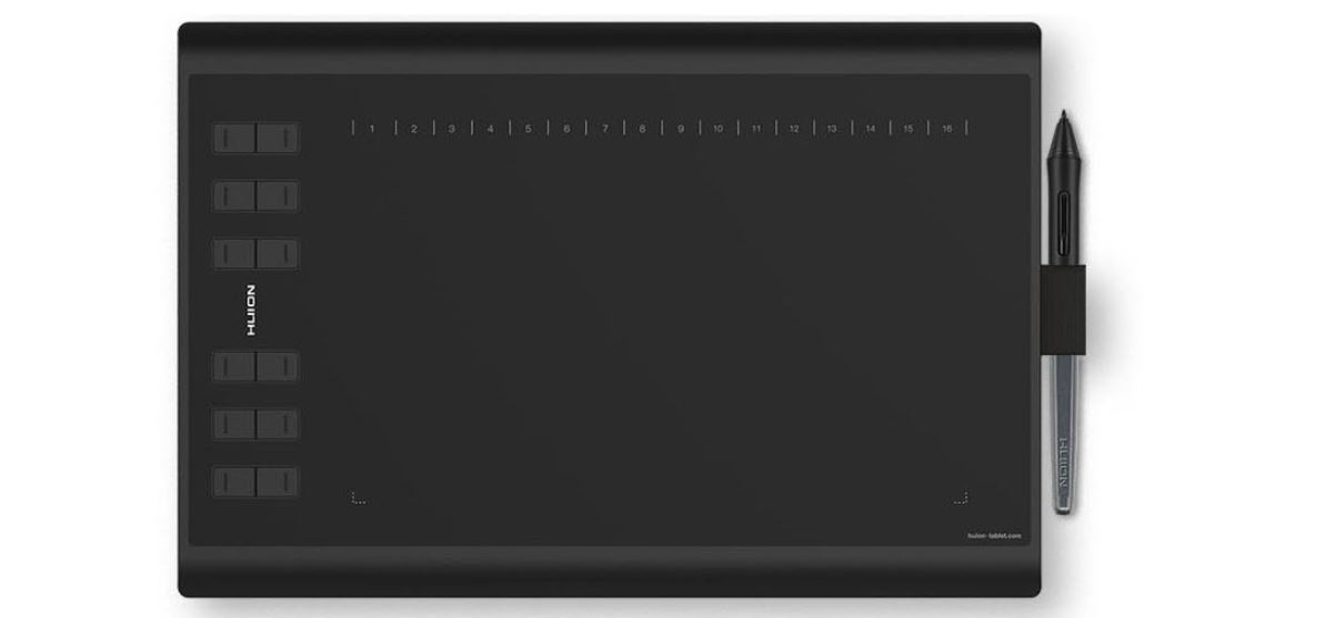 #Tablet graficzny Huion H1060P