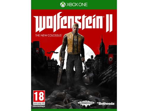 Gra Xbox One Wolfenstein II: The New Colossus wersja BOX