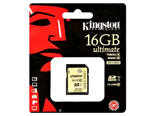 Karta pamięci Kingston SD Class 10 16GB - SDA10/16GB