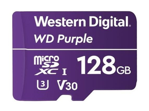 WD Purple 128GB MICRO SD WDD128G1P0A