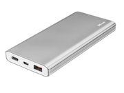 Power Bank Trust Omni Thin metal 22701 10000mAh USB-C USB typ A