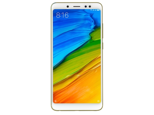 Smartfon XIAOMI Redmi Note 5 LTE 3G Bluetooth GPS WiFi 64GB Android 7.0 kolor złoty