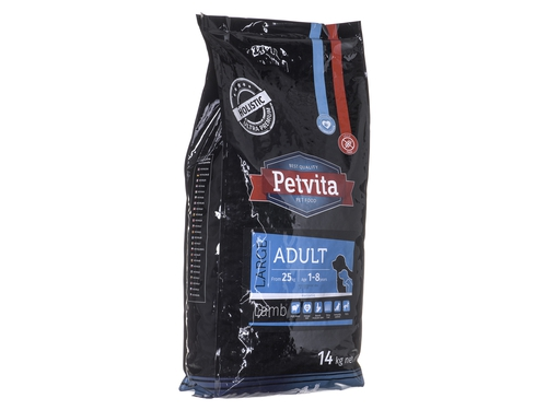 PETVITA Adult Large Lamb 14kg