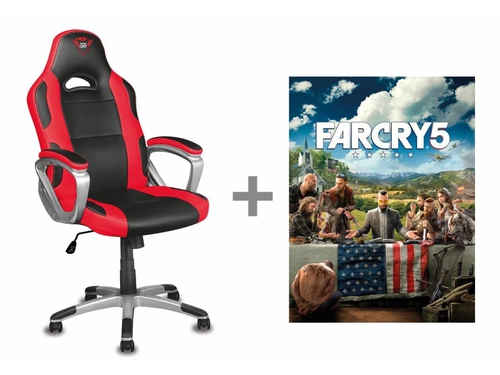 Fotel TRUST GXT 705 Ryon + voucher Far Cry 5