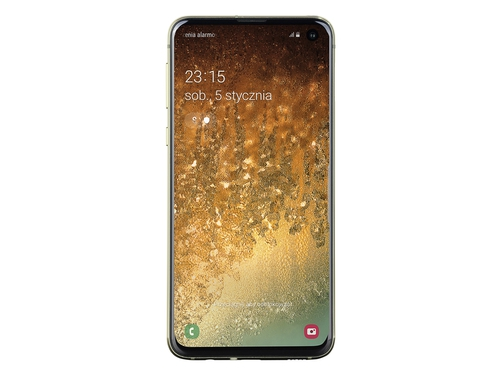 Smartfon Samsung Galaxy S10e 128GB Canary Yellow SM-G970FZYDITV Bluetooth WiFi NFC GPS LTE Galileo DualSIM 128GB Android 9.0 Canary Yellow