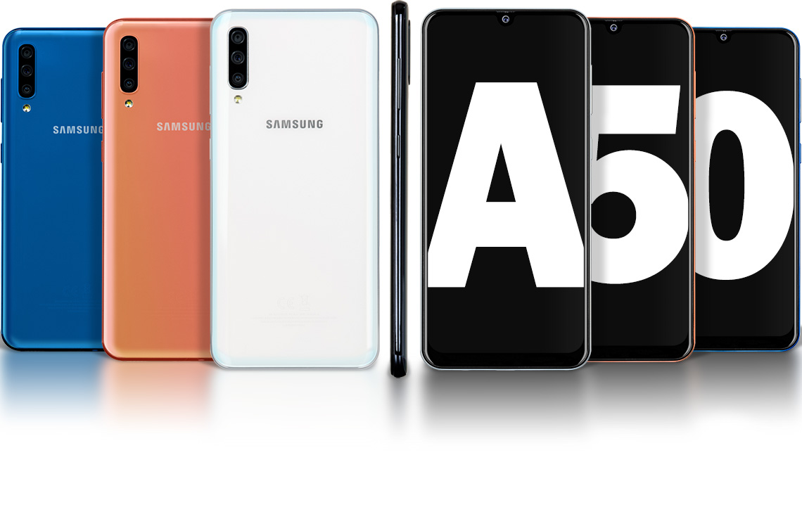 #Samsung Galaxy A50 128GB Dual SIM Black (A505)....