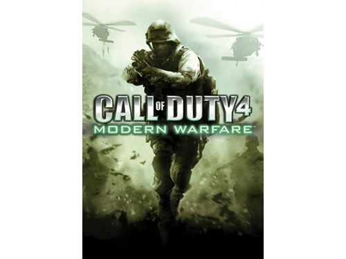 Gra Mac OSX PC Call Of Duty 4: Modern Warfare (MAC) - - wersja cyfrowa