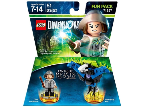 Gra PS3 PS4 Xbox 360 Xbox One FUN PACK FANTASTIC BEASTS - wersja BOX