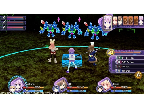 Hyperdimension Neptunia Re+Birth1 - K01236