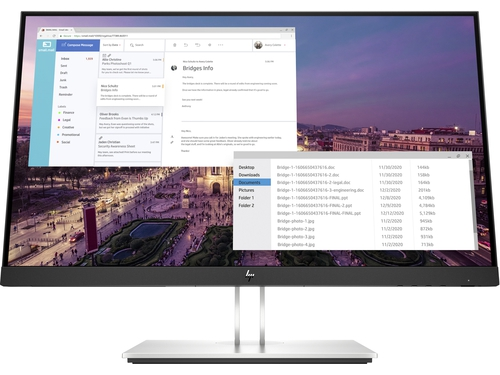 "MONITOR HP LED 24"" EliteDisplay E23 G4 (9VF96AA)"