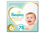 Pampers pieluchy PC Mega Box S6 Extra Large 78szt