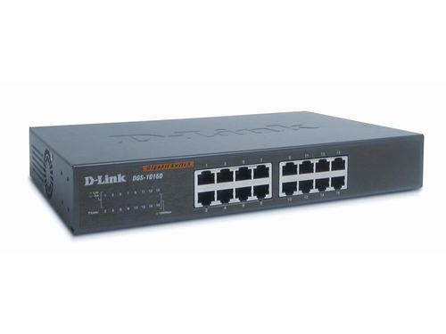Switch D-Link DES-1016D/E 16x 10/100Mbps