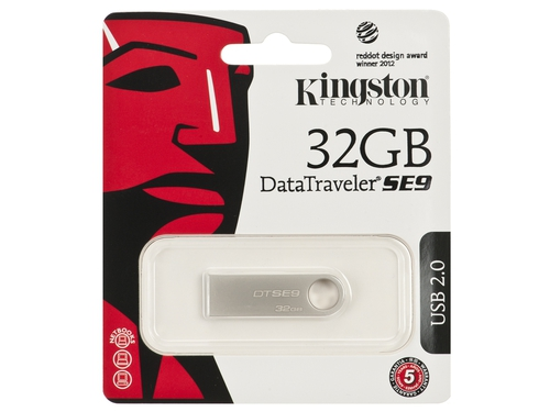 Pendrive Kingston 32GB USB 2.0 DTSE9H/32GB