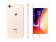 Smartfon Apple iPhone 8 64GB Gold MQ6J2PM/A Bluetooth LTE WiFi GPS 64GB iOS 11 kolor złoty