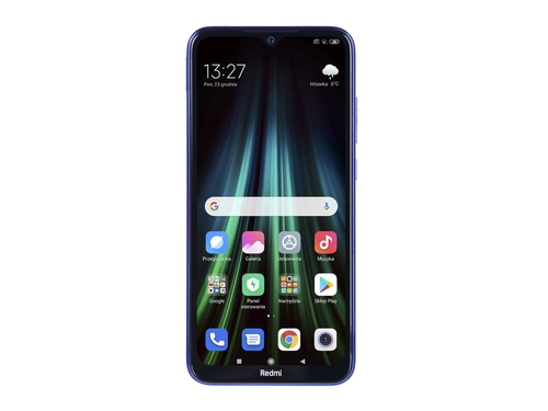 Smartfon XIAOMI Redmi Note 8T 128GB Starscape Blue Bluetooth WiFi NFC GPS LTE DualSIM 128GB Android 9.0 Moonlight White