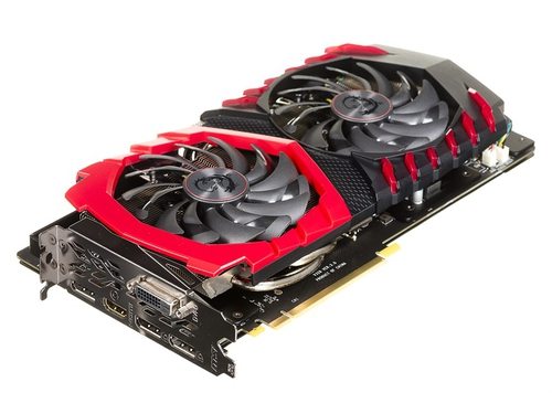 Karta graficzna MSI GeForce GTX1060 GTX 1060 GAMING X 6G 6GB GDDR5 8000 / 8100 MHz 192-bit