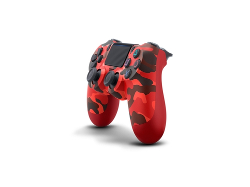 PS4 Dualshock Cont Red Camo V2