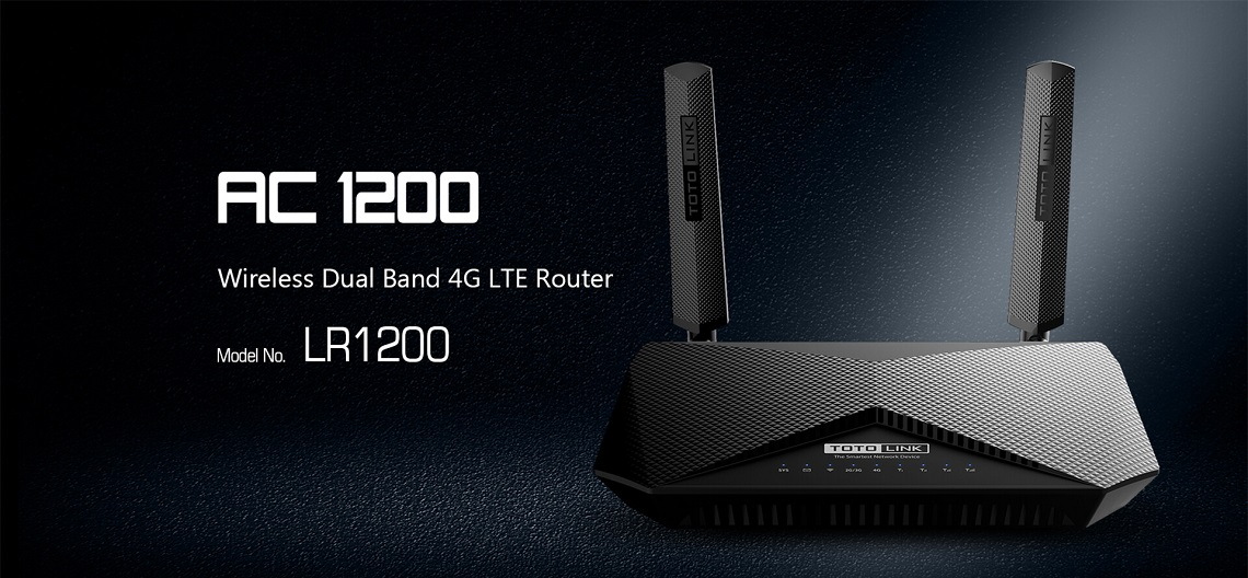 #Totolink LR1200 Router WiFi  AC1200 Dual Band