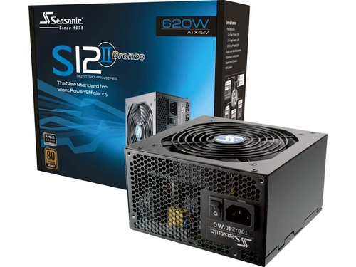 Zasilacz Seasonic 80 Plus Bronze S12II-620 ATX