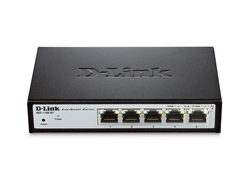 Switch D-Link DGS-1100-05/E 5x 10/100/1000Mbps