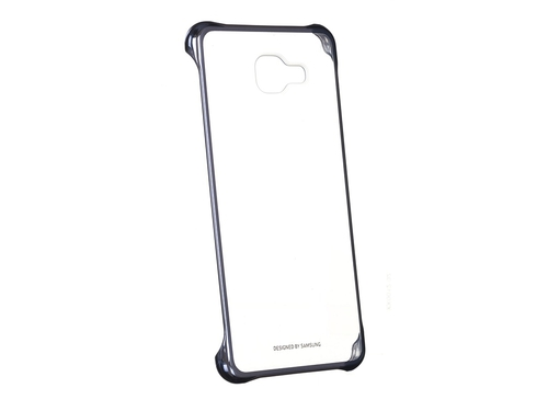 Etui SAMSUNG Clear Cover do Galaxy A5 (2016) Czarny - EF-QA510CBEGWW
