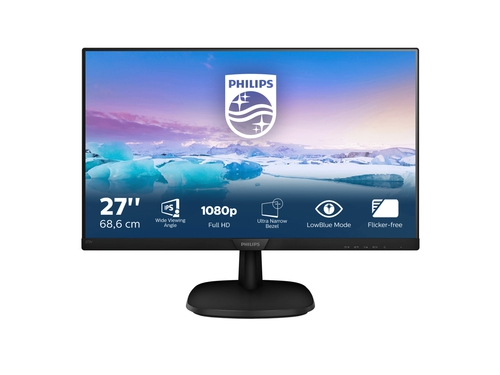 Monitor Philips 273V7QDSB/00 27'', panel-IPS+ FullHD+ D-Sub, DVI, HDMI
