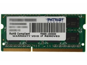 Pamięć PATRIOT DDR3 4 GB 1333MHZ SIGNATURE SODIMM CL9 - PSD34G13332S