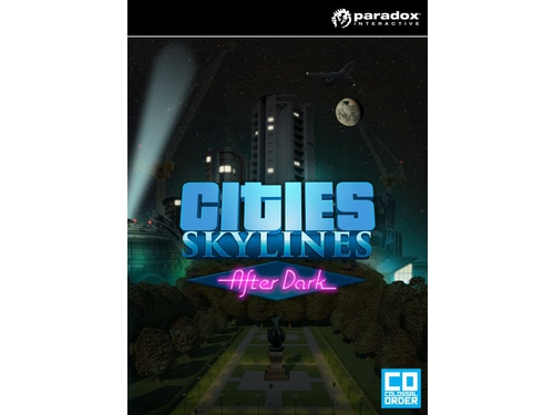Gra wersja cyfrowa DLC Cities: Skylines - After Dark