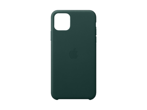 iPhone 11 Pro Max Leather Case - Forest Green - MX0C2ZM/A
