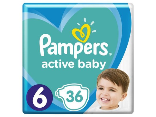 Pampers pieluchy Extra Large 6 36 szt