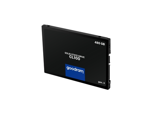 SSD GOODRAM CL100 Gen. 3 480GB SATA III 2,5 RETAIL - SSDPR-CL100-480-G3