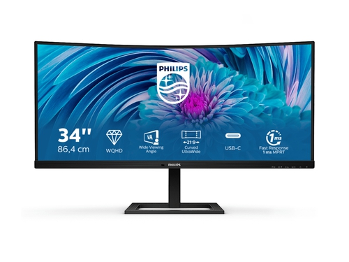 "MONITOR PHILIPS LED 34"" 346E2CUAE/00"