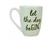 PP LET THE DAY BE GIN MUG - PP4863