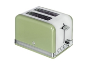 SWAN 2 SLICE RETRO GREEN TOSTER ST19010GN