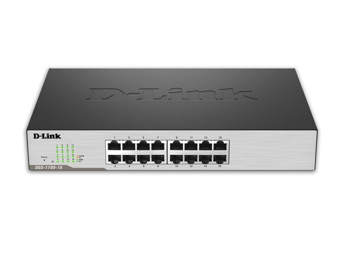 D-LINK DGS-1100-16 16-Port Gigabit EasySmart Switch