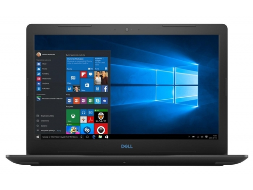 "Laptop gamingowy Dell G3 15-3579 3579-7611 Core i7-8750H 15,6"" 8GB SSD 256GB GeForce GTX1050Ti Windows 10"