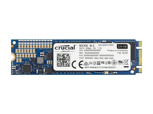CRUCIAL SSD MX300 525GB M.2 - CT525MX300SSD4