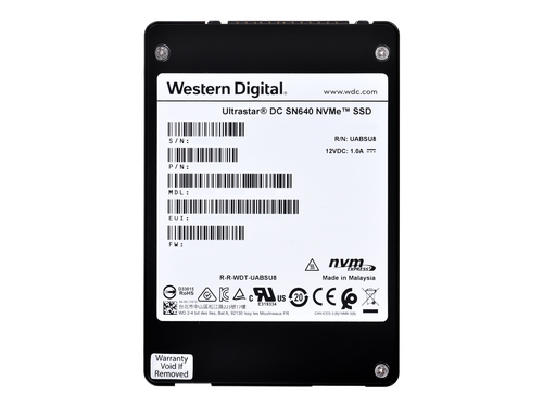 Western Digital SSD Ultrastar 3840GB PCIe 0TS1929
