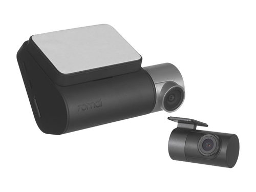 Wideorejestrator Xiaomi 70mai Smart Dash Cam Pro Plus A500 +Rear Cam Set (A500+RC06=A500S-1) w zestwie tylna kamera