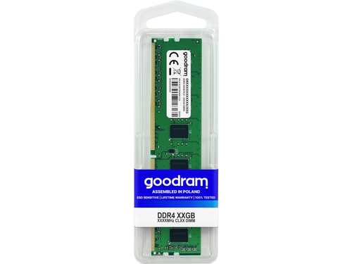 GOODRAM DDR4 4GB 2400MHz CL17 - GR2400D464L17S/4G
