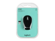 Mysz Logitech Wireless Mini Mouse M187 - BLACK - 2.4GHZ - 910-002731